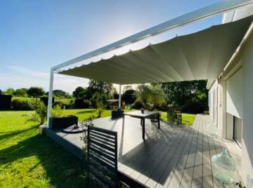 Pergola rétractable